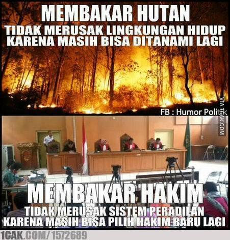 Meme Hakim PN Palembang