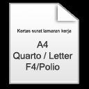 Kertas Surat Lamaran Kerja