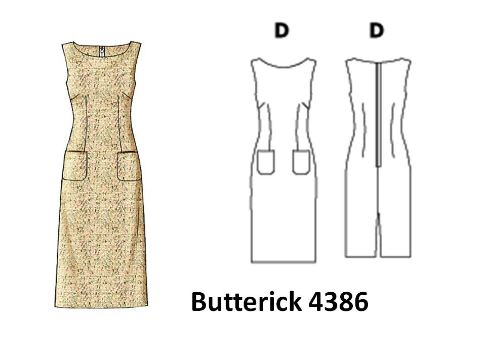 Pintucks: 7 Best Sheath Dress Patterns with Vintage Style: Easy to Sew