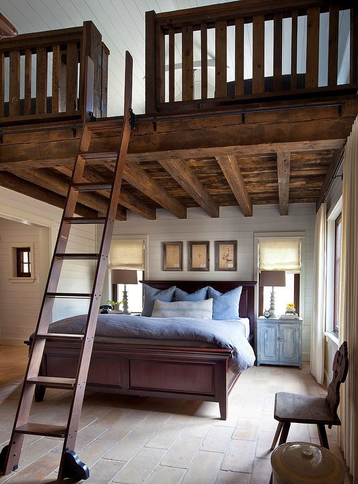 Un reformado establo como hogar ba2 proyectos - Altillo de madera ...