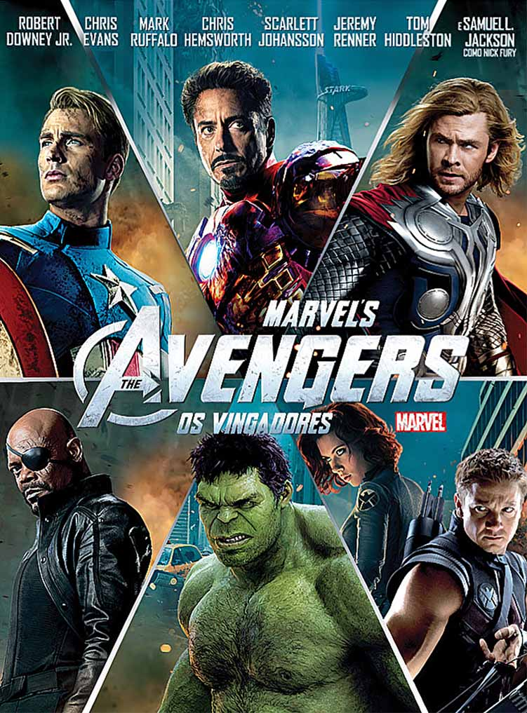 Os Vingadores: The Avengers 3D Torrent - BluRay 1080p Dublado