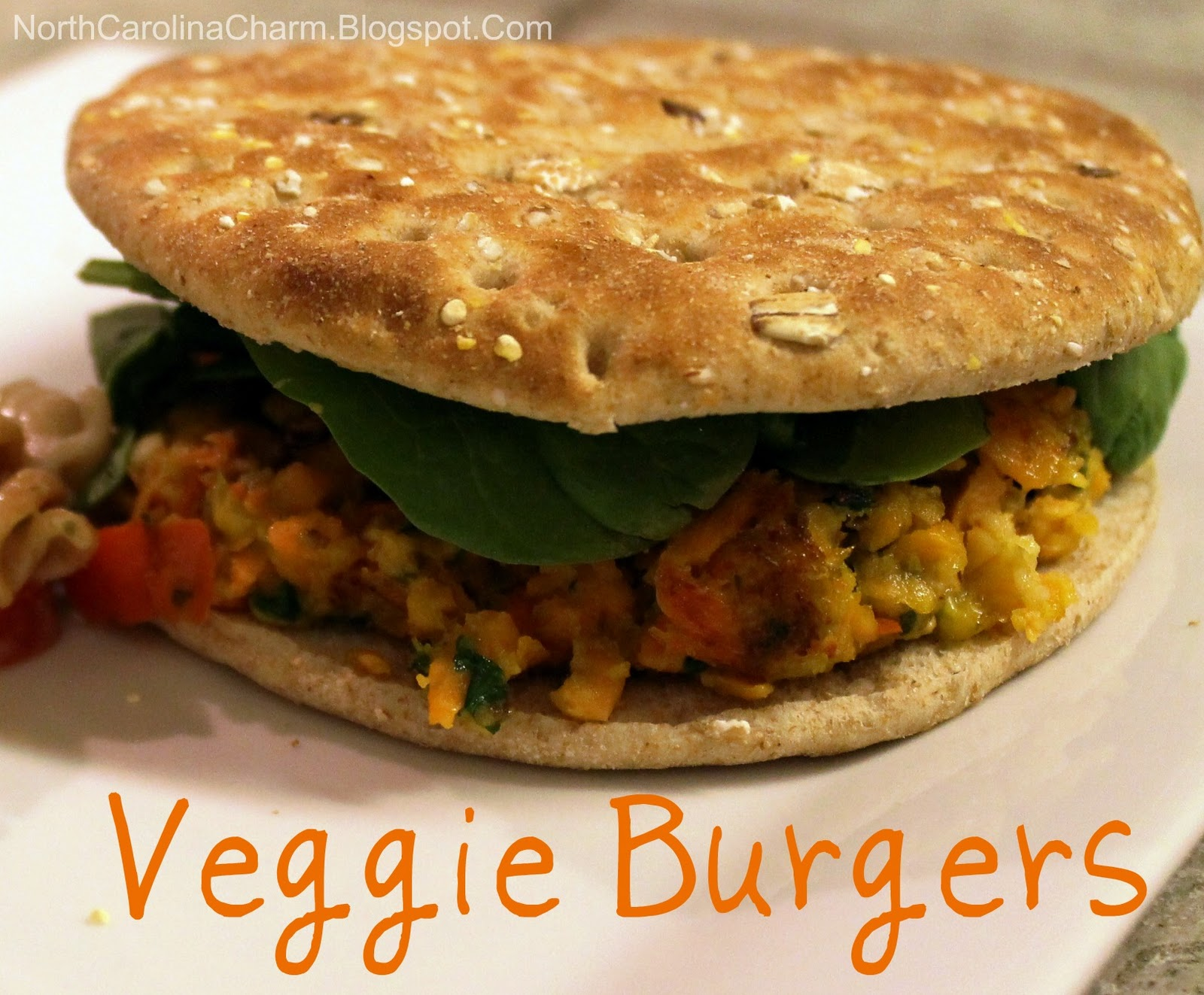 Carolina Charm: Homemade Veggie Burgers