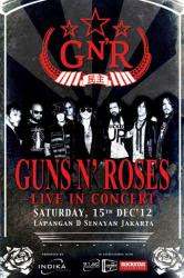 Harga Tiket GNR, Guns n Roses Konser di Jakarta