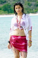 Madhurima Hot Stills at Beach