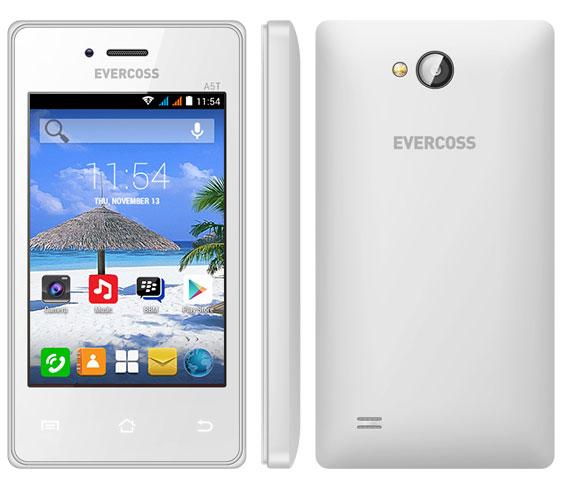 Evercoss A5T, Smartphone Android KitKat Cuma Rp500 Ribuan