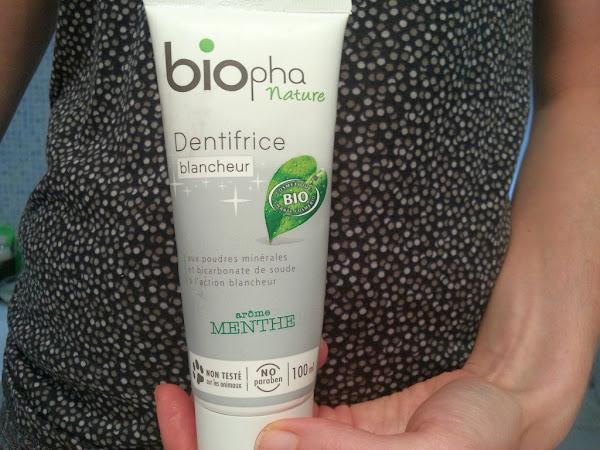 Test produit : Bio, jusqu'au dentifrice ?