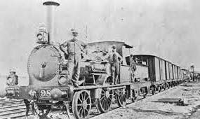 The first railway line in India