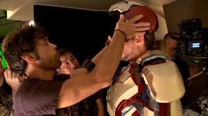 Foto-Foto Dibalik Pembuatan Film Iron Man 3