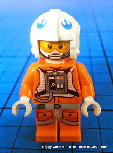 The LEGO Star Wars Advent Calendar Day 16 Zev Senesca pilot figure