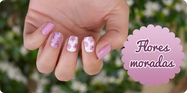 manicura de flores vv shine