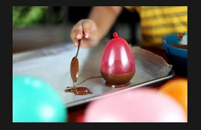 How to Make a Chocolate Ice Cream Cup Using Balloons Seen On www.coolpicturegallery.us