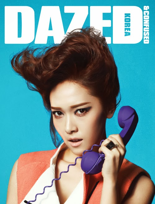 Jessica Jung for dazed and confused