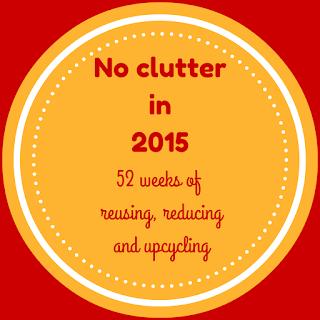 declutter, decluttering, no clutter in 2015