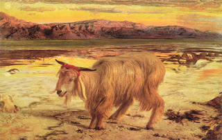 El Chivo Expiatorio obra de William Holman Hunt