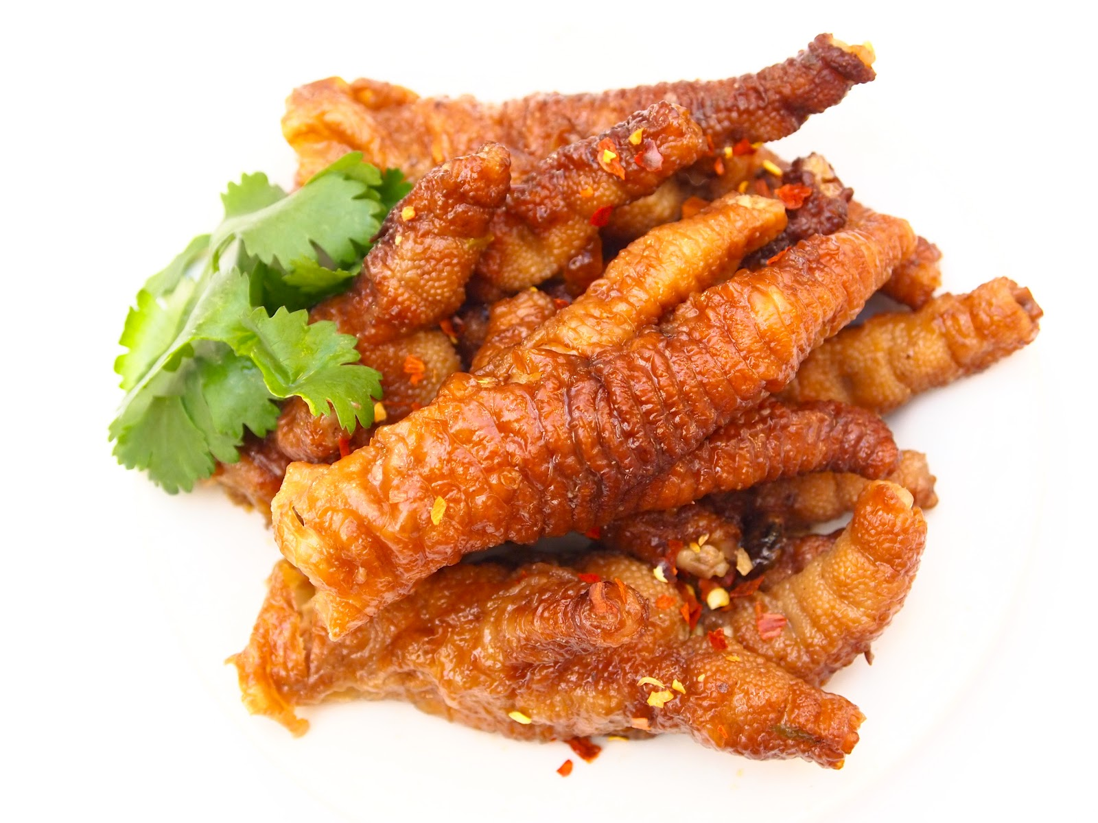 Deep Fried Chicken Feet Steam the chicken feet and