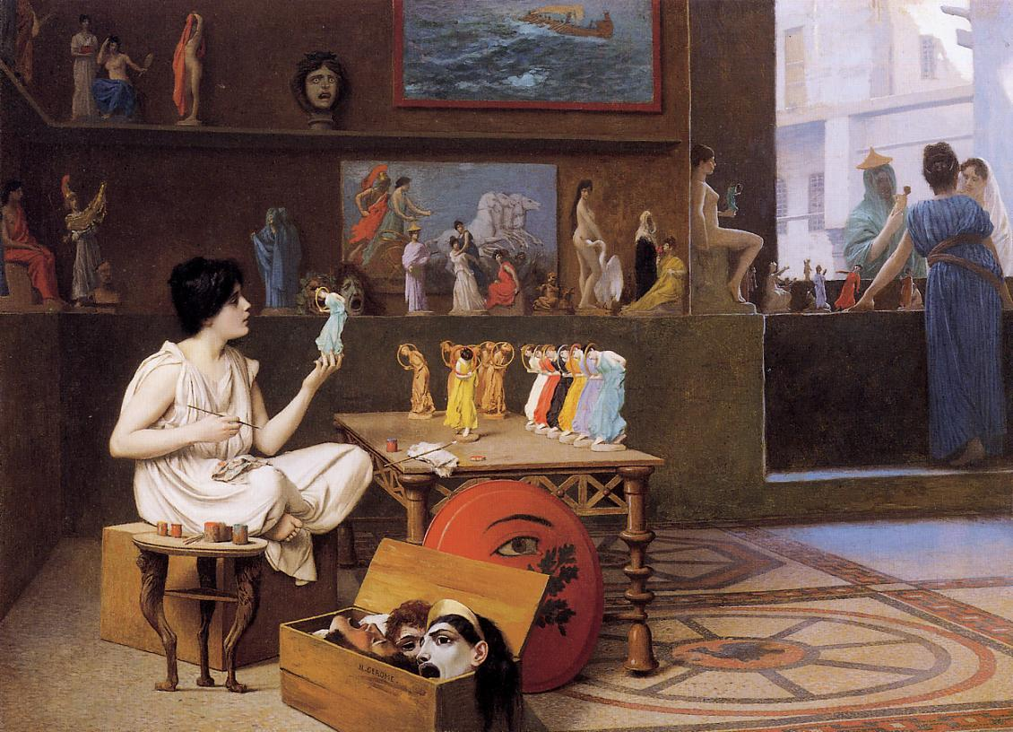 gérôme painting sculpture