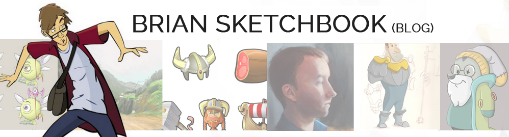 Brian sketchbook