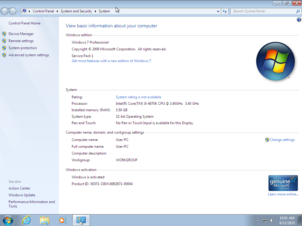 Windows 7 Sp1 AIO All Version Update November 2015