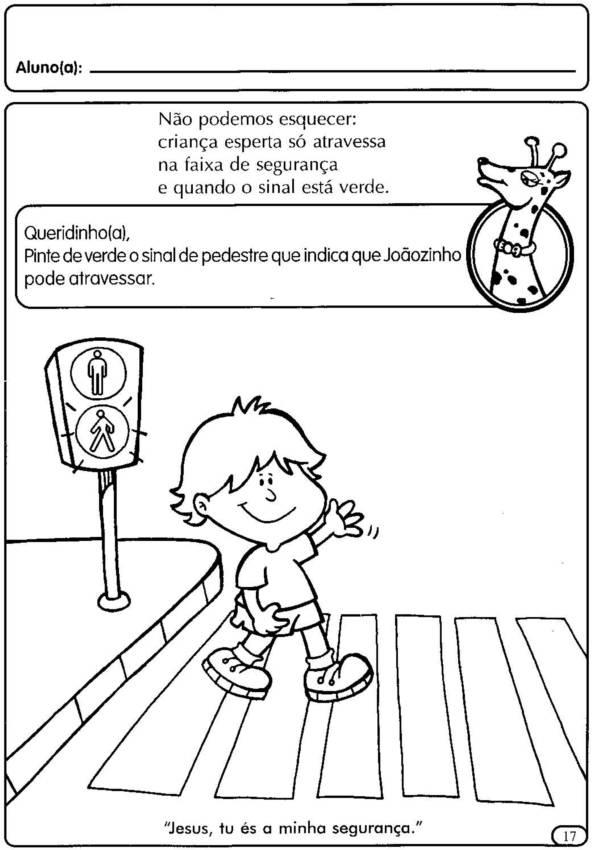 Suficiente blog Dona Amiguinha: Projeto transito- Educação Infantil HE18