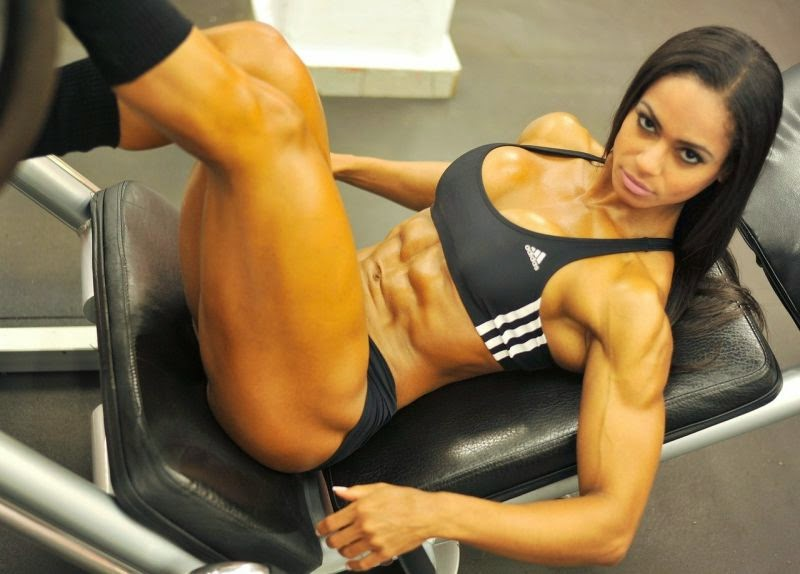Denise Rodrigues-hottest fitness females