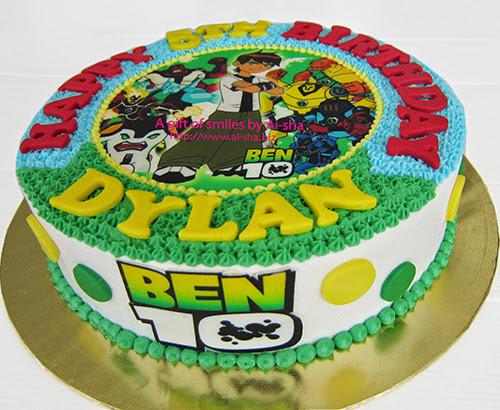 Birthday Cake BEN10  Ai-sha Puchong Jaya