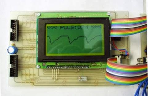 monitor de batimentos cardíacos com PIC