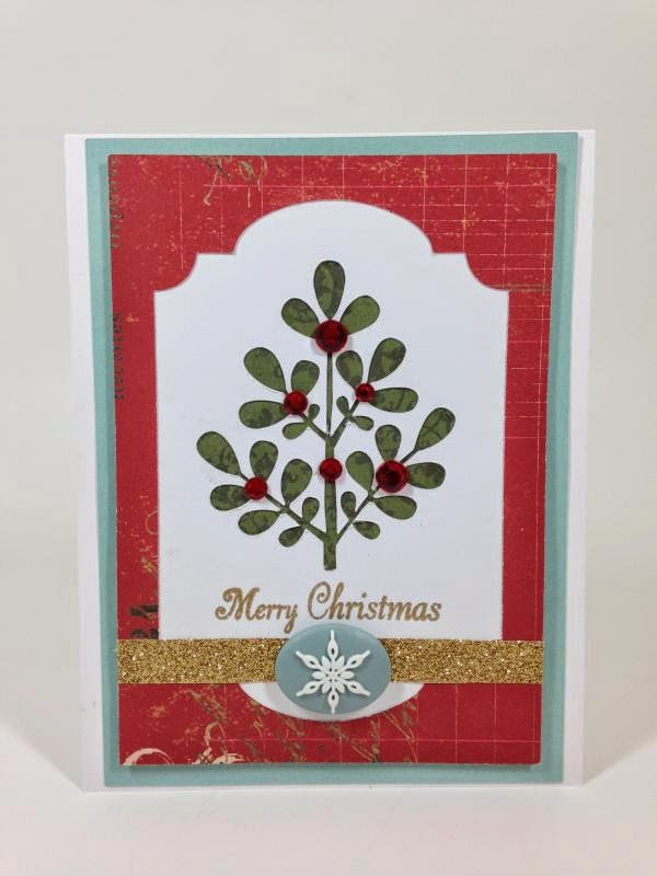 Close To My Heart Artfully Sent Cricut cartridge Christmas card