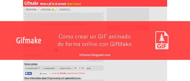 Cómo crear un GIF animado de forma online con GifMake
