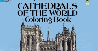 Gothic Cathedral Coloring Books