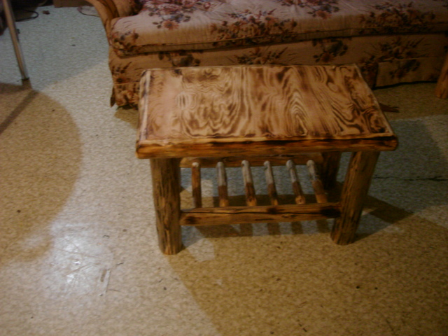 Twisted Pine Log Furniture Coffee And End Tables