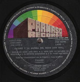 Pajaro y la murga del Rock & Roll: Idem (1976)
