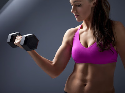 Upper Arm Exercises with Weights for Women Over 50