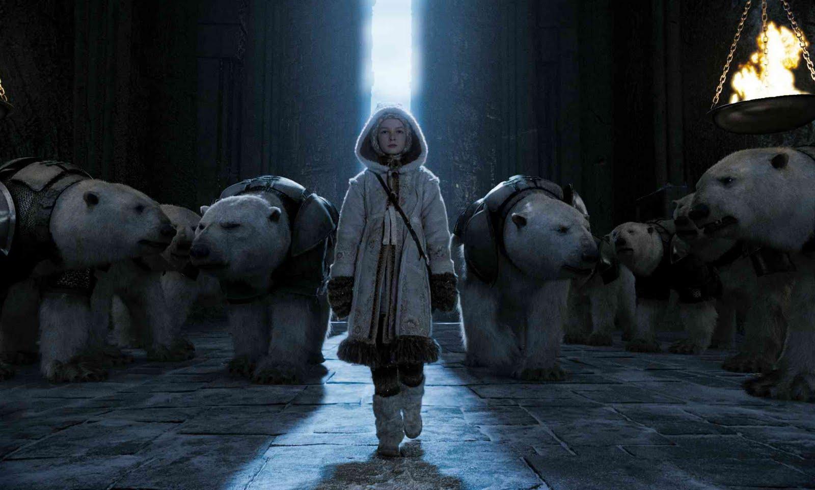 Phillip Pullman   Polar Bear In The Book U0027Northern Lightsu0027/The Golden  Compassu0027