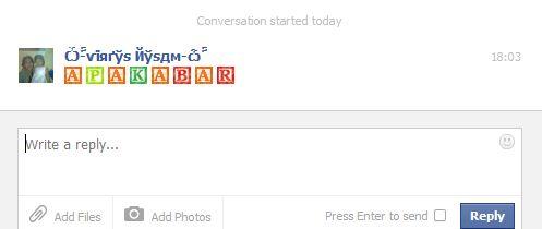 Smiley Untuk Facebook Chat
