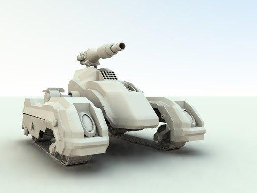 Mech Tank por Manged