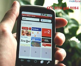Đăng ký 3G Mobifone chỉ 10.000đ/tháng với gói M10