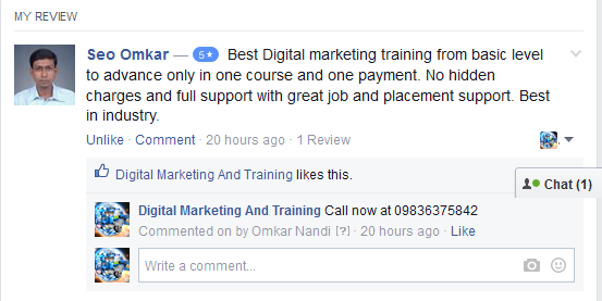 seo training in kolkata , digital marketing training in kolkata review