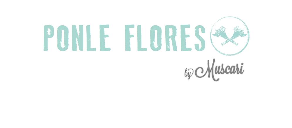 PONLE FLORES