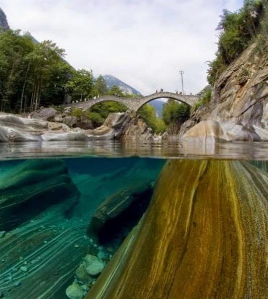 Jom Lihat Sungai Paling Bersih dan Indah di Switzerland