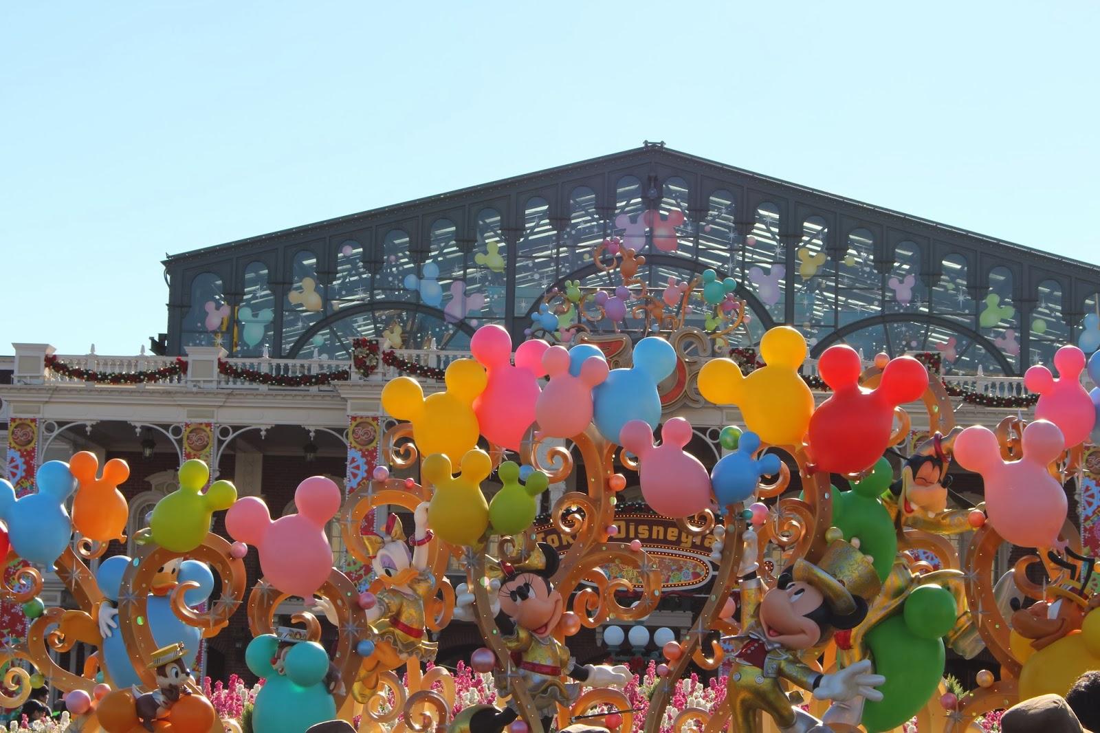 Disney land 東京迪士尼 聖誕節