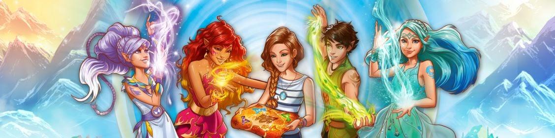 Ausmalbilder Lego Elves Drachen: Personajes
