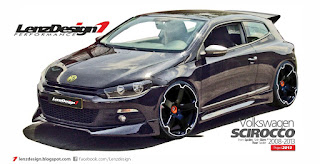 VW Scirocco Body Kit