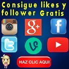 Consigue likes y follower gratis
