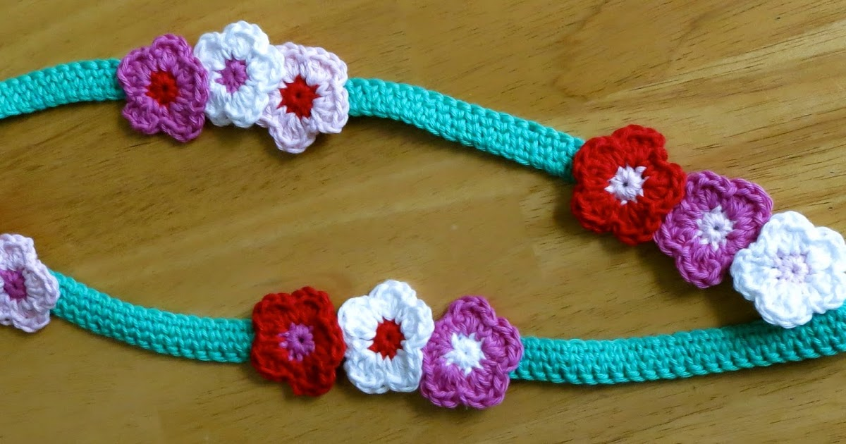 Da S Crochet Connection Flowery Lanyard