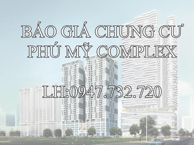 Báo giá chung cư Phú Mỹ Complex - N01T4 Ngoại Giao Đoàn (bản dự kiến)