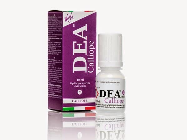 Échantillons de liquides aromatisés pour les cigarettes électroniques dea