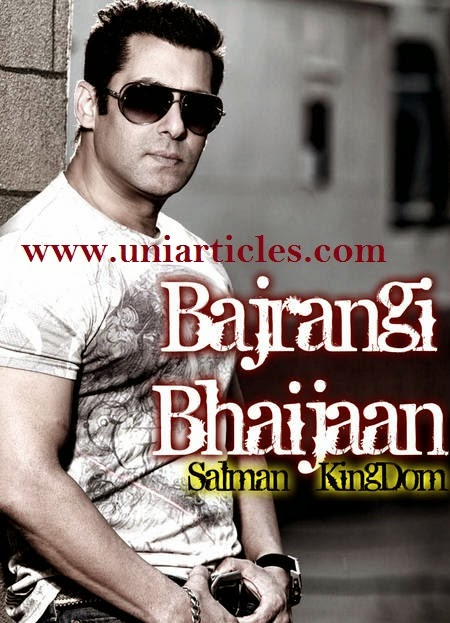 Salman Khan as Bajrangi Bhaijaan |Bollywood Blockbuster 2015 |Release Soon