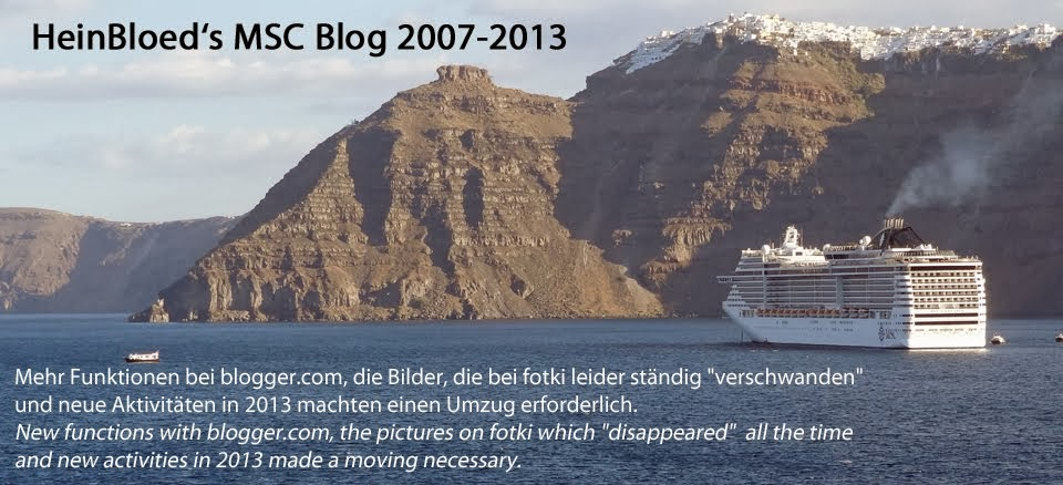 HeinBloed's MSC-Blog 2007-2013