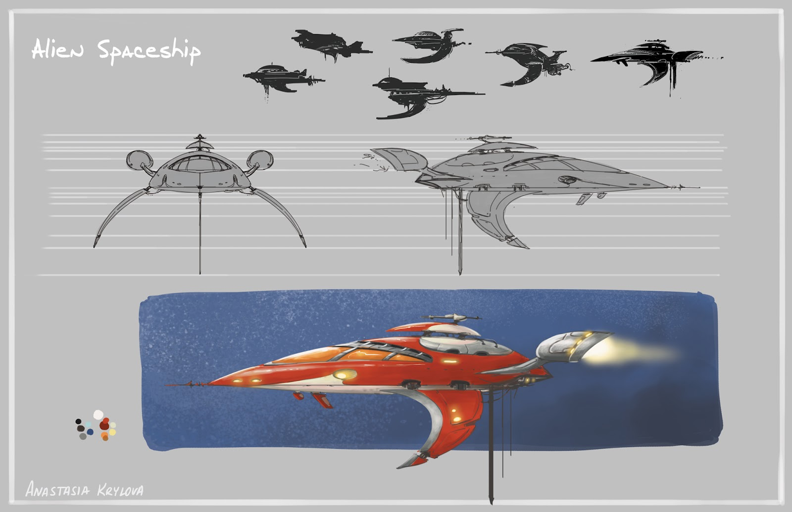Alien Spacecraft Design Www Picsbud Com