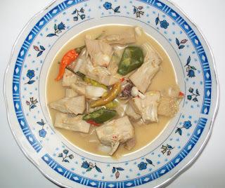 Resep Masakan Sayur Lodeh tewel